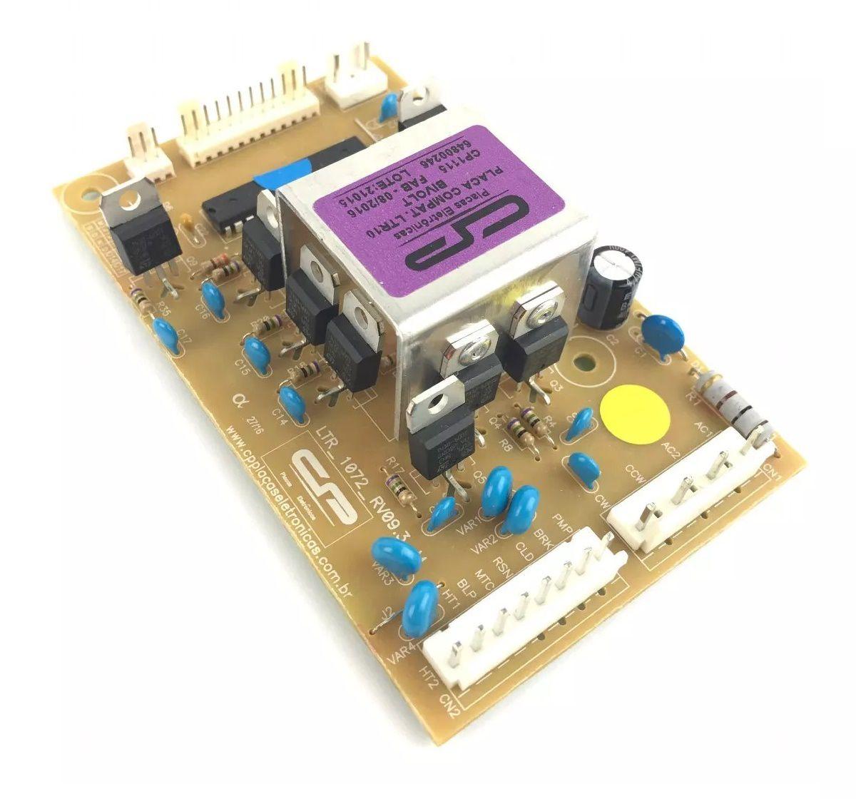 Placa Lavadora Electrolux Ltr10 Compatível cód:64800246