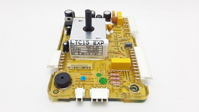 Placa Lavadora Ltc15 Electrolux 127/220V