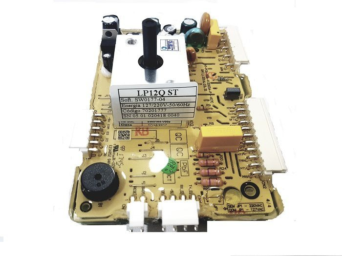 PLACA ORIGINAL LAVADORA ELECTROLUX LP12Q - 70201777