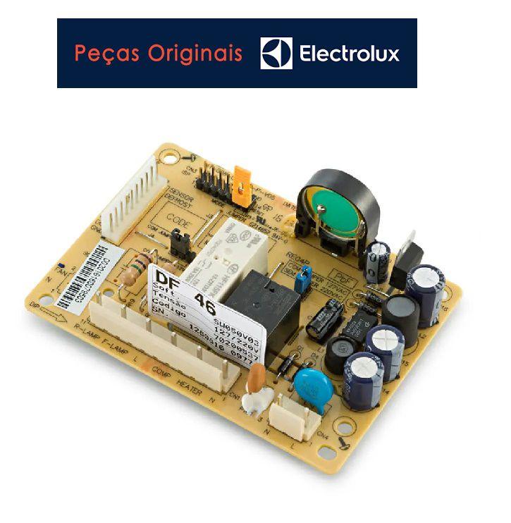 Placa Potência Geladeira Electrolux Df46 Df49 Bivolt Original
