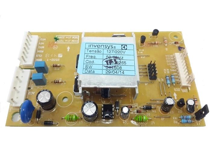 PLACA POTENCIA LAVADORA ELECTROLUX LT12 -64800265