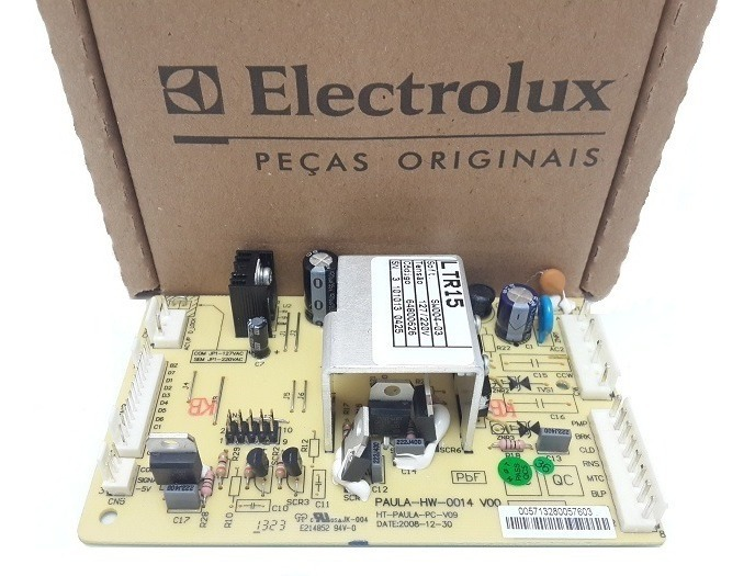 PLACA POTÊNCIA LAVADORA ELECTROLUX ORIGINAL LTR15