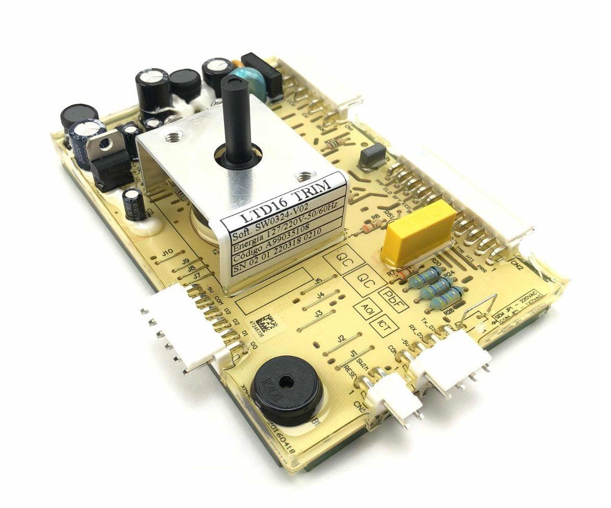 PLACA POTÊNCIA LAVADORA LTD16 ORIGINAL ELECTROLUX