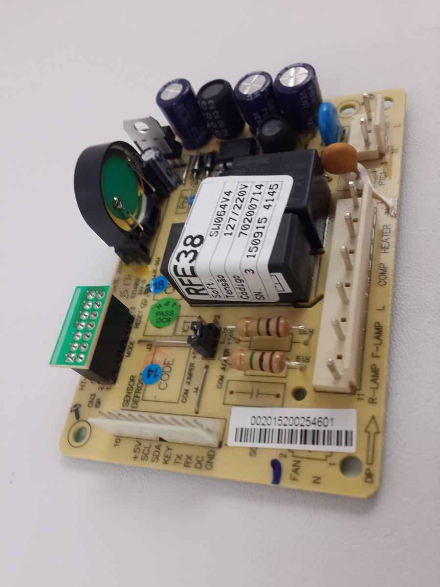 PLACA REFRIGERADOR ELECTROLUX RFE38