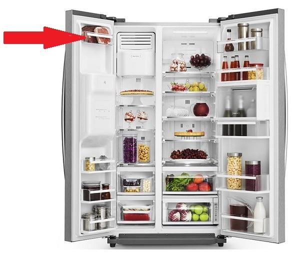 Prateleira Pequena Porta Freezer Side By Side SH78X Electrolux