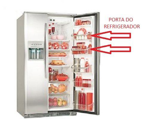 Prateleira Porta Refrigerador Side By Side SS74X SS75X SS76X