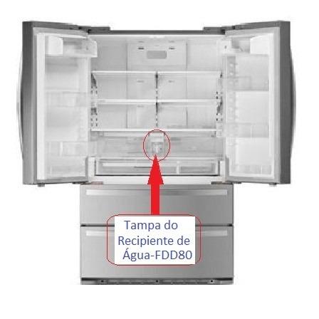 TAMPA RECIPIENTE DE AGUA REFRIGERADOR ELECTROLUX FDD80