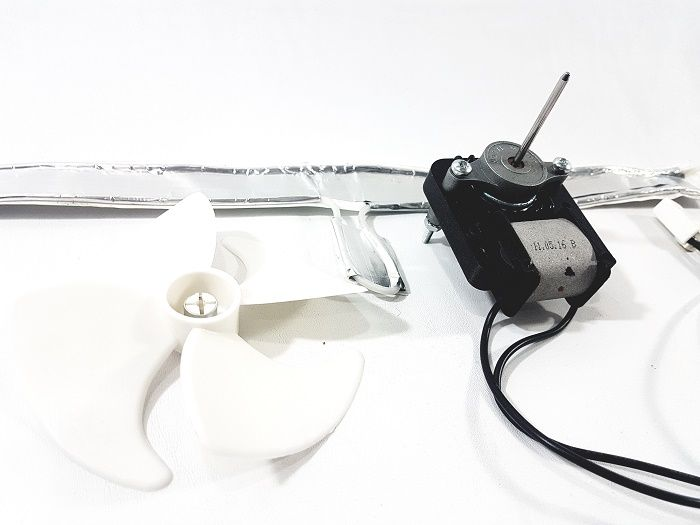 Ventilador e Resistência Freezer Electrolux FFe24-127V