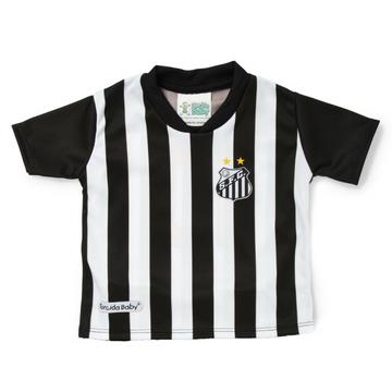 6ff15cdf1d1e7 Camisa Bebê Santos Torcida Baby Oficial - Loja Gaby