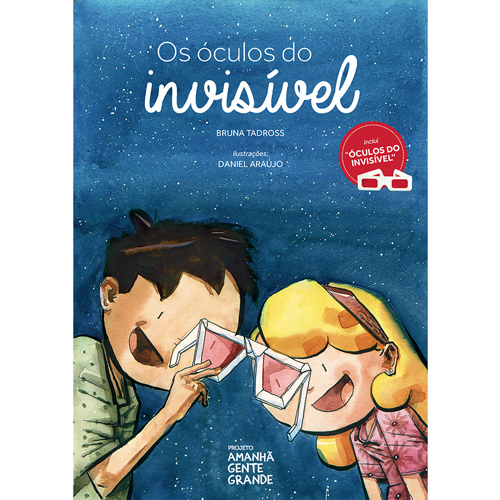 """Os Óculos do Invisível  (livro + """"óculos do invisível"""")"""