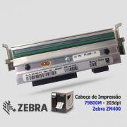 Cabeça de Impressão Zebra ZM 400 (203dpi - 4.09