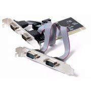 Placa Multiserial PCI Flexport F1141e - 4 Seriais