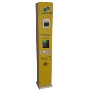 Totem de álcool gel automático com termômetro - Correios
