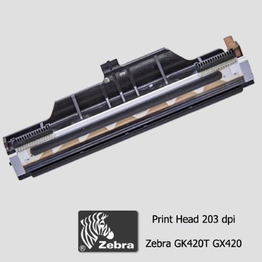 """Cabeça de Impressão Zebra GX 420T  e GK 420T (203dpi - 4"""")"""