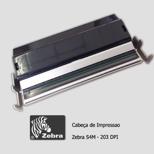 """Cabeça de Impressão Zebra S4M (203dpi - 4"""")"""