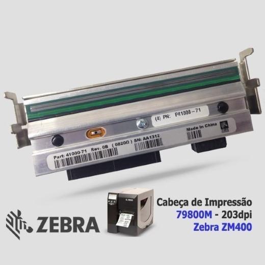 """Cabeça de Impressão Zebra ZM 400 (203dpi - 4.09"""")"""