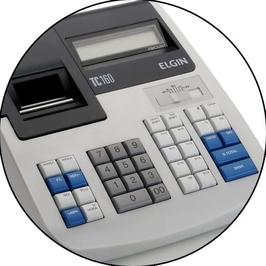 Caixa Registradora Elgin TC160 - Não Fiscal