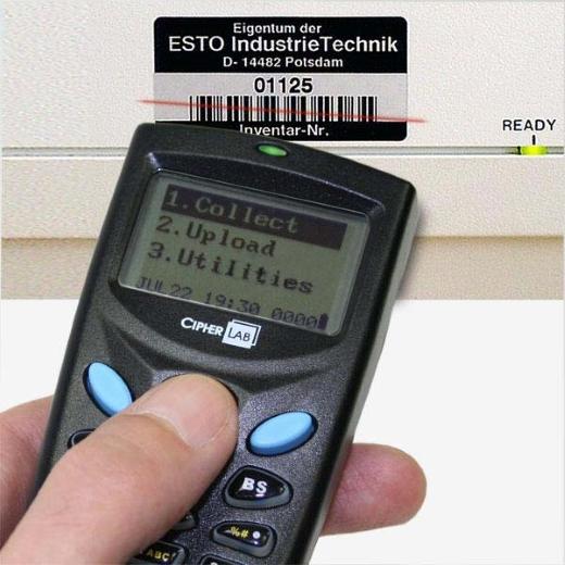 Coletor de Dados CPT-8001 Cipherlab Laser