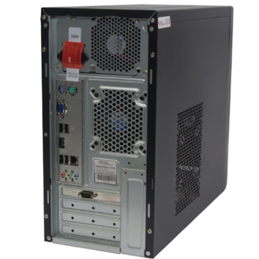 Computador Accept DT8000 (Quad-Core J2900 2.41GHz - HD500GB - 2 Serial) - Correios