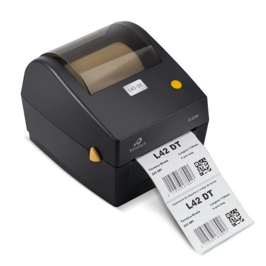 Impressora de Etiquetas L42 DT Elgin Térmica Direta