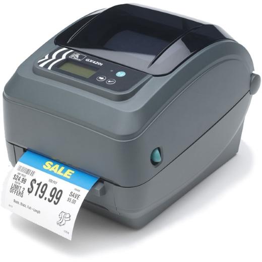 Impressora de Etiquetas Zebra GX 420t (203dpi Vel. 6''/seg)
