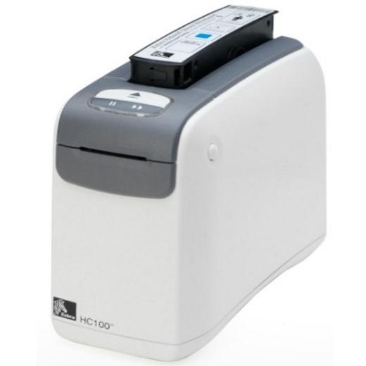 Impressora de Pulseiras Zebra HC100 (USB + SERIAL)
