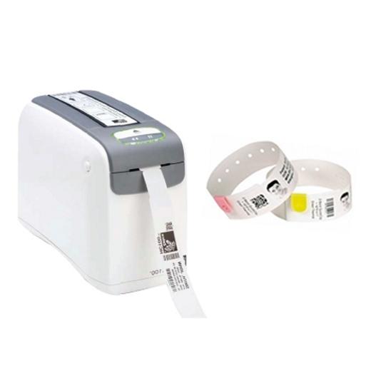 Impressora de Pulseiras Zebra HC100 (USB + Serial + ZebraNet interno)