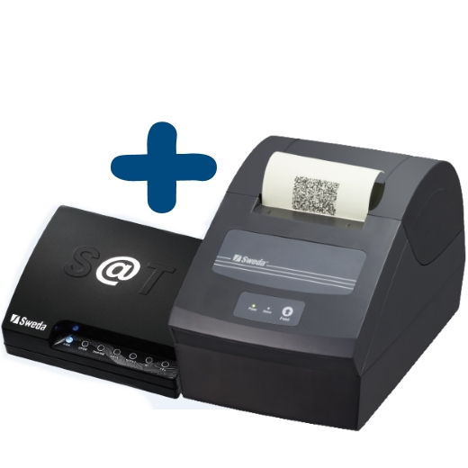 Kit SAT Fiscal Sweda - Sat SS 1000 + Impressora não Fiscal SI 150
