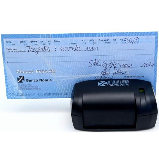 Leitor de Cheques Nonus - Homebank 20 (Manual)
