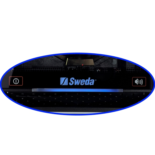 Leitor de Código de Barras Fixo Sweda SL 80 - 1D (Boletos/Danfe)