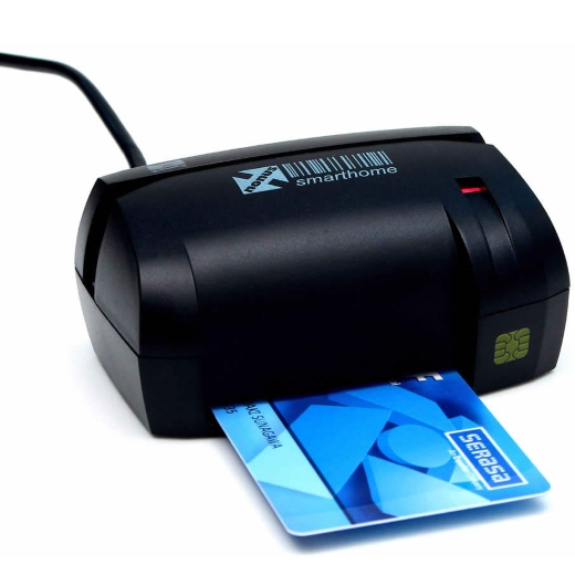 Leitor de Smart Card Nonus - Smarthome 10 (Boletos/Cheques/Smart Card)