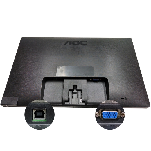 Monitor LED AOC Widescreen (E1670SWU) 15,6