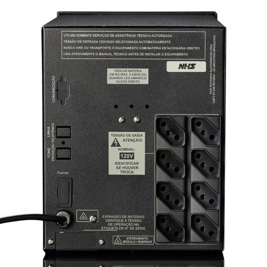 Nobreak NHS PDV 1200E - Bateria Estacionária 1x45Ah