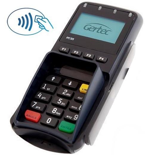 Pin Pad Gertec PPC 920 - com Leitor Magnético, Smart Card e Contactless