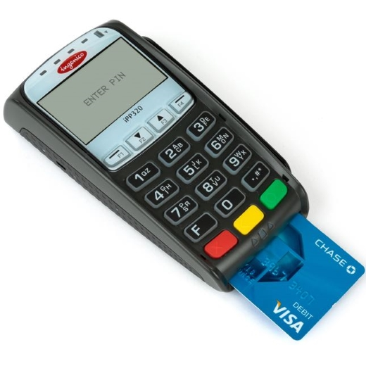 Pin Pad Ingenico iPP320 - Leitor Magnético, Smart Card e Contactless
