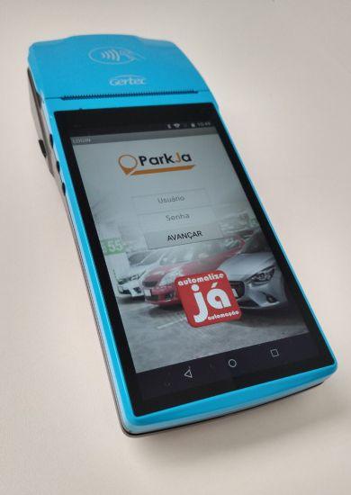 Sistema para Estacionamentos Parkja Mobile G800