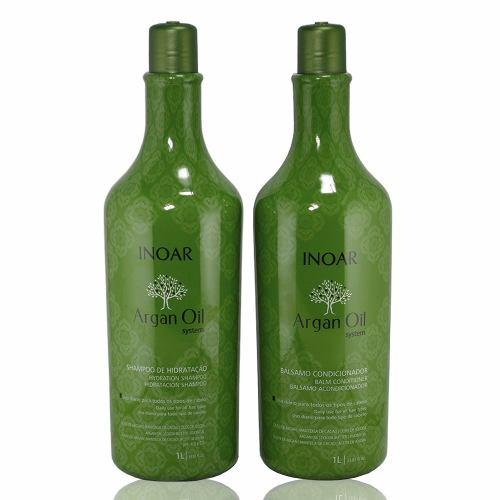 Kit Inoar Argan Oil Shampoo+condicionador (2 Produtos)