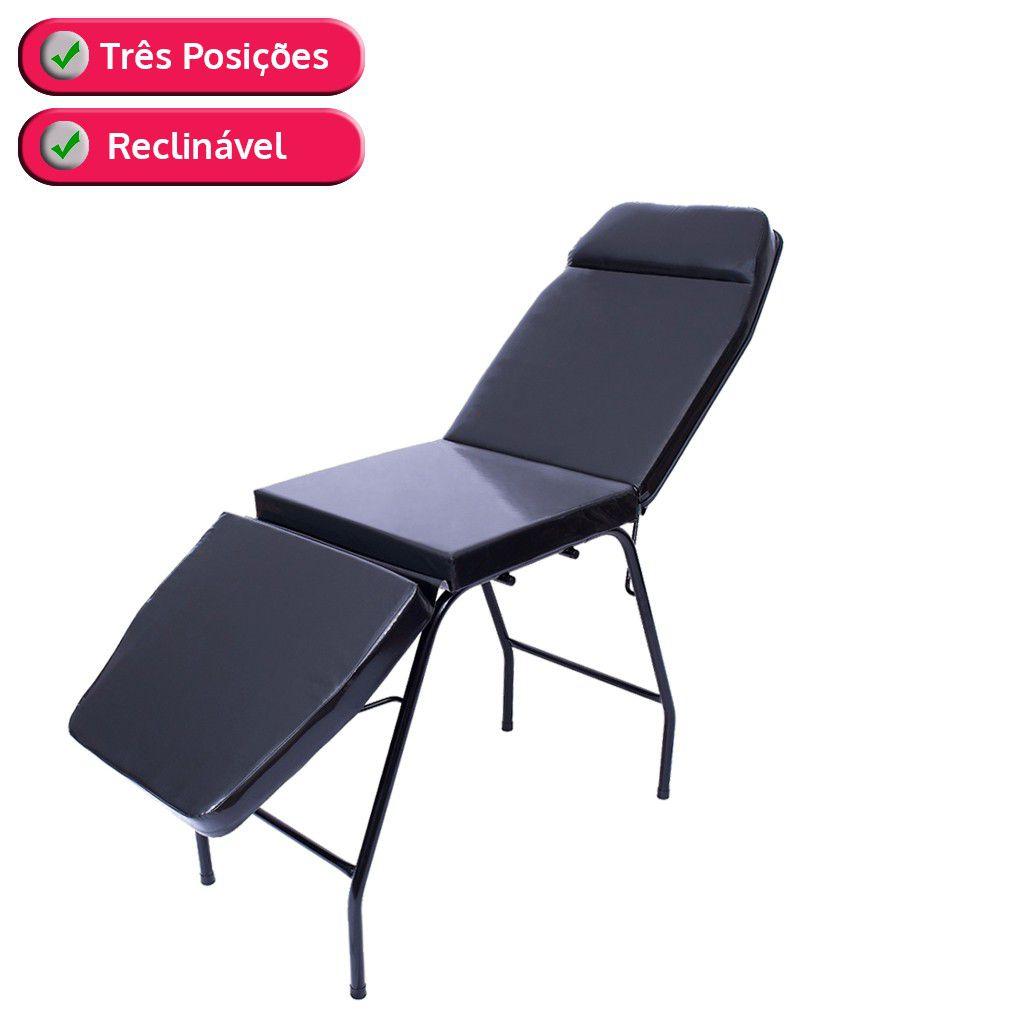 Cama Maca 3 Posicoes Para Massagem E Estetica
