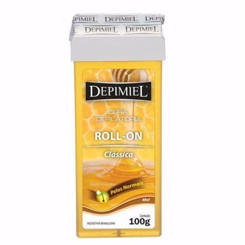 Cera Depilatória Depimiel Roll On CLASSICA MEL