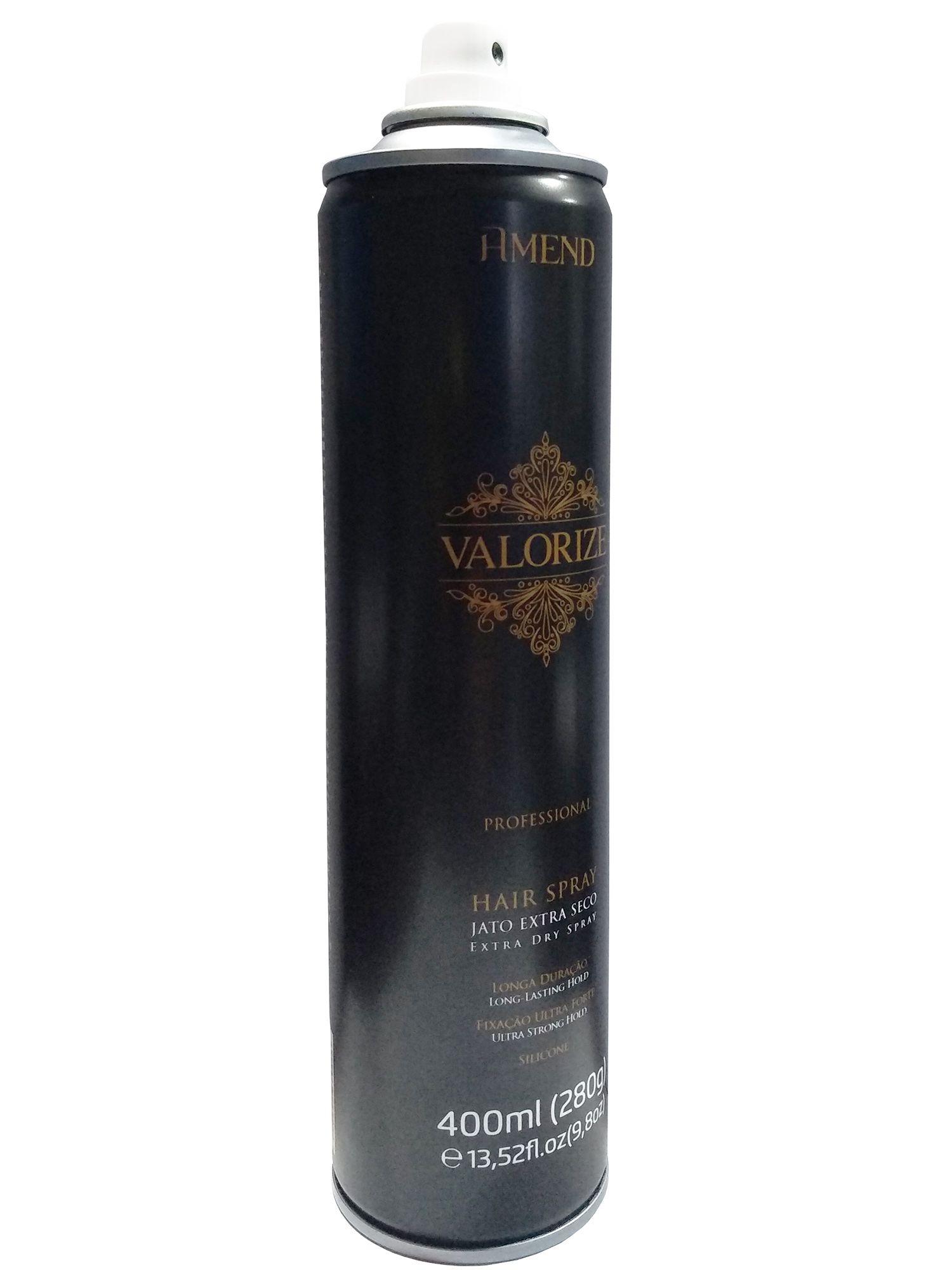 Hair Spray Fixador Ultra-Forte Valorize - Amend 400 ML