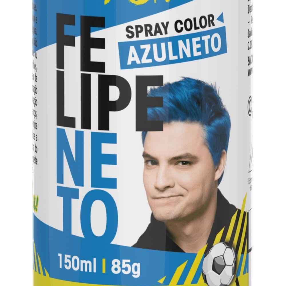 SPRAY COLOR FELIPE NETO – AZULNETO