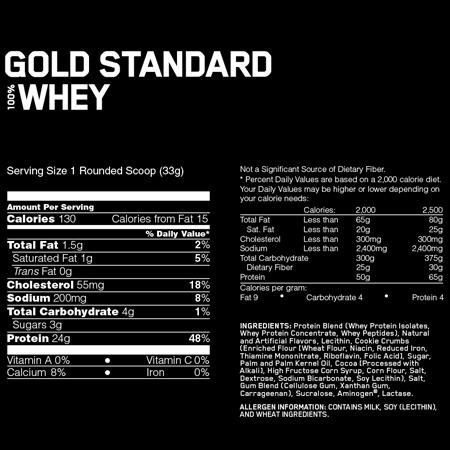 100% Whey Gold Standard (2.2Kg)