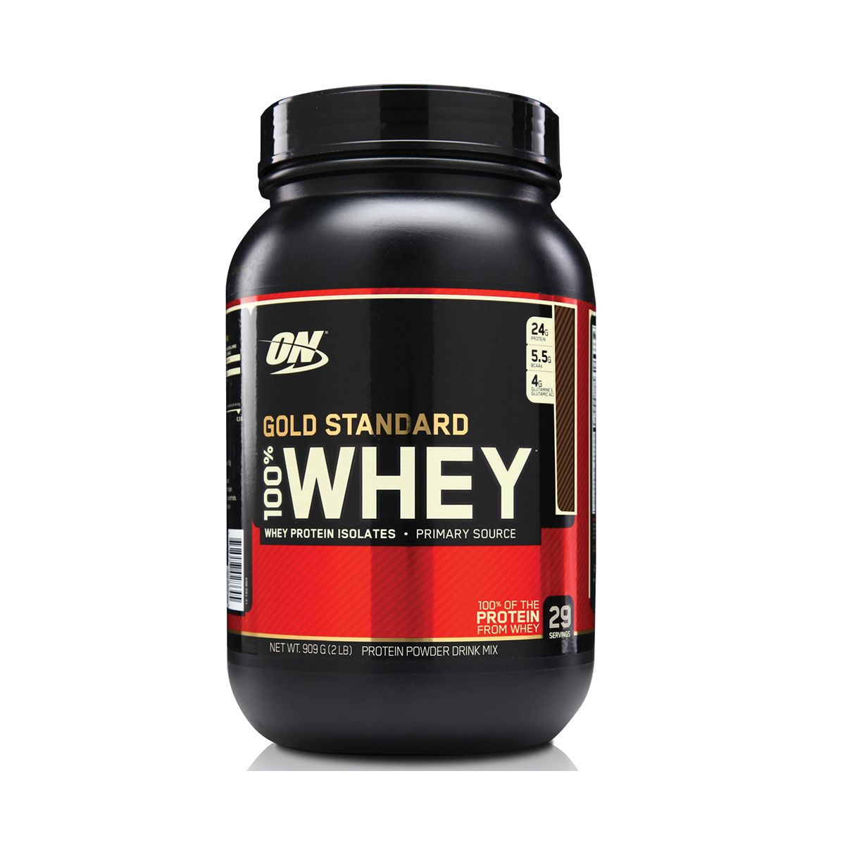 100% Whey Gold Standard (Proteína Isolada e Concentrada) 909g