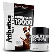 Combo Hipercalorico 3,2kg + Creatina - Atlhetica Nutrition