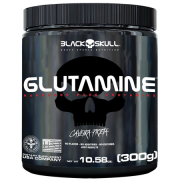 Glutamine - Caveira Preta (300g)