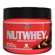 NutWhey Cream Creme de Avelã Proteíco 200g