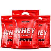 Oferta Combo 3x Nutri Whey Protein Integralmédica 907g