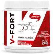 Pré Treino V-FORT 240g Vitafor