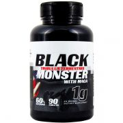 Tribulus Terrestris 1000mg Com Maca Peruana Black Monster 90 Caps
