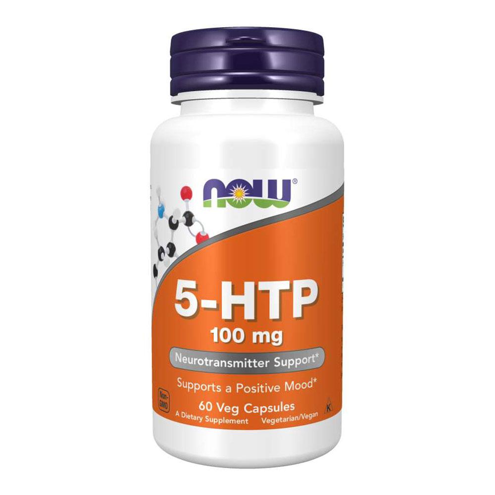 5-htp 100mg - Now Foods (60 Cápsulas)